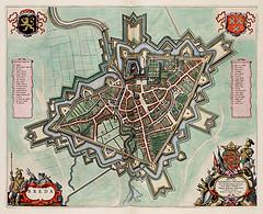 Breda, uit 'Toonneel der Steden' van Willem en Joan Blaeu, 1652