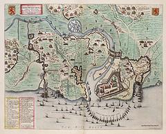 Beleg van Geertruidenberg in 1595, door Willem en Joan Blaeu