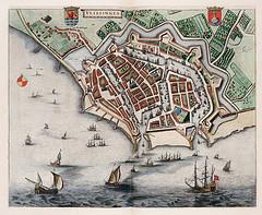 Vlissingen, uit Toonneel der Steden van Willem en Joan Blaeu