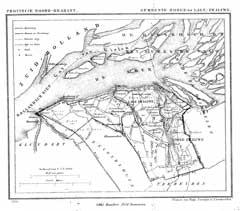 Zwaluwe in de gemeenteatlas van Kuyper (Wikimedia Commons)
