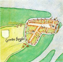 Geertruidenberg, door Jacob van Deventer