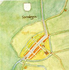 Zevenbergen, door Jacob van Deventer